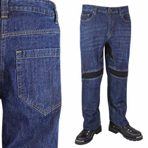 Pantalon Xelement De Mezclilla Con Protecciones K-1972