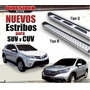 Estribos Planos Acero Inox. Ford Escape 2012-13