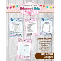 Juegos Baby Shower Imprimelos Tú!!