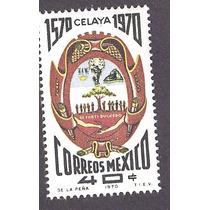 Mexico Escudo Ciudad De Celaya 1970 Nueva