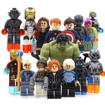 16 Fig La Era De Ultron Los Avengers 2 Compatibles Con Lego