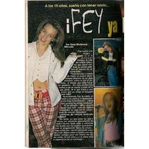 Fey Preciosa En Revista Teleguía Octubre 1996