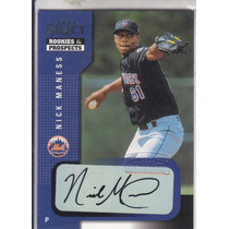 2002 Select Rookie Nick Maness Mets