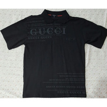 Playera Gucci Color Negra Talla L 100% Original Nueva