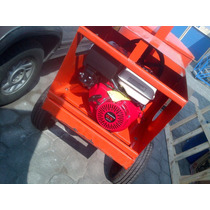 Revolvedora De Concreto Con Motor Honda 13hp