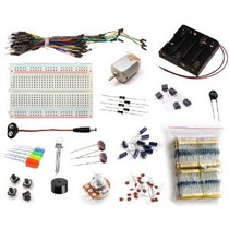 16hertz Proyecto Electrónica Starter Kit W / Cables Protoboa