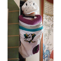 Peluche Anaheim Mighty Ducks Bota Navidad Nhl Hockey