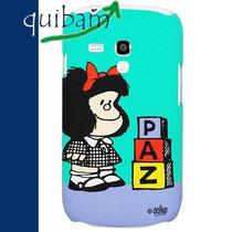 Carcasa Protector Funda Mafalda Paz Galaxy S3 Mini I8190