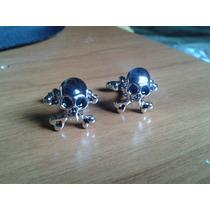 Mancuernillas - Craneo Calavera Dark Gotico Gemelos Camisa