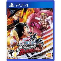 ¡¡¡ One Piece: Burning Blood Para Ps4 En Wholegames !!
