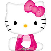 Globo Hello Kitty 6 Pzas Medida 14 Pulgadas Centro De Mesa