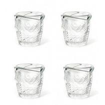 Vasos Para Shots Diseño Trompita De Pescado 4 Piezas Nuevos