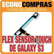Flex Sensor De Pantalla Touch Para Galaxy S3 100% Nuevo