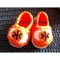 Zapatos Basquetbol Crochet