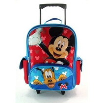 Mochila 16 Mickey Mouse Rolling Backpack