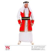 Árabe Príncipe Traje - (l) (bata W Chaleco Cinturón Sombr