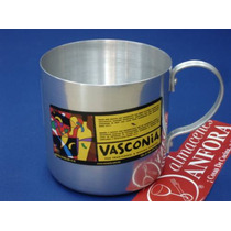 Aluminio Vaso 10 Cms. D.f. Mod.: 20205 Mrc.: Vasconia