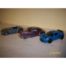 Hot Wheels Matchbox Lote De 2 Coches Lotus Exige Ford Shelby
