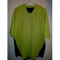Playera Nike Total 90 Dri Fit Verde Limon