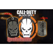 Placa Tag Militar Call Of Duty: Black Ops 3 Igo Mercadoenvio