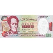 Grr-billete De Venezuela 1000 Bolívares 1998