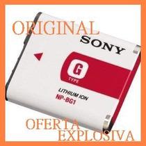 Bateria Original Np-bg1 P/camara Sony Dsc-w150 W110 W200 W90