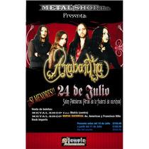 Poster De Anabantha En Concierto En Chihuahua 2009
