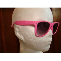 Fashion Lentes Retro Color Rosa Moda Vintage Lbf