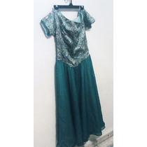 Lindo Vestido De Noche Verde Princesas,hadas,rock,fashion