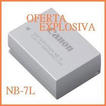 Bateria Recargable Nb-7l Camara Canon Powershot Sx30 Is