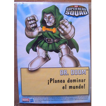 Doctor Doom Marvel Super Heroes Squad Tarjeta Card