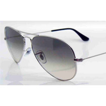 Lentes Ray Ban Aviator Gota Grande Rb 3026 Gray Gradient