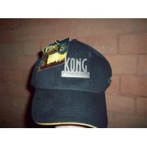 Gorra Original De King Kong Con Placa De Metal