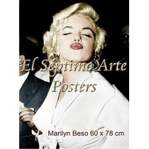 Litografia Beso De Marilyn Monroe!! - Vintage Retro Sav7