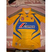 Jersey Adidas De Los Tigres Talla Chica 10 La Gata Fernandez