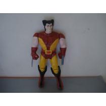 Figura Retro Wolverine Marvel 1991 Mide 12 Cms