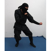 Uniforme Ninja Negro ( Shinobi Shozoku ) - Marca Musha
