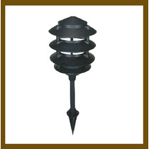 Lámpara Para Jardín, Resistente En Exteriores, Con Estaca.