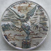 Moneda Mexico 2015 Onza Troy Plata Patiana Hermosa