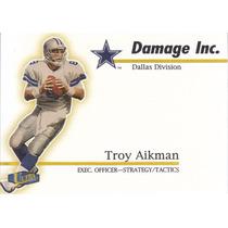 1998 Ultra Damage Inc Troy Aikman Qb Cowboys