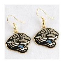 Jacksonville Jaguars Aretes