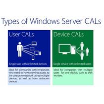 Client Access Licenses (cals) Para Win Server