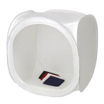Cubo Tienda Caja Luz Estudio Fotografia 120 Cm + Fondos