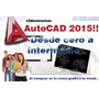 Aprende Autocad Desde Cero Hasta Nivel Intermedio + Regalo!!