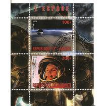 Espacio Yuri Gagarin Y Sputnik 2 Estampillas Dmm