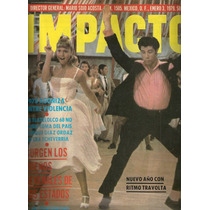 John Travolta Olivia Newton-john Vaselina En Revista De 1979