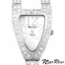 Reloj Nina Raye / Madre Perla / Cristales / Envio $0 Sp0