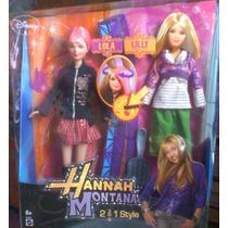 Hanna Montana Lola Lilly Muneca 2 Estilos