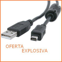 Cable Usb P/transferir Datos Cb-usb5 Camara Digital Olympus