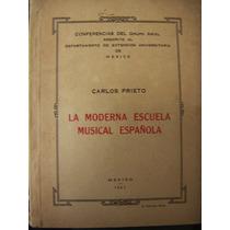 Libro, La Moderna Escuela Musical Española, Carlos Prieta